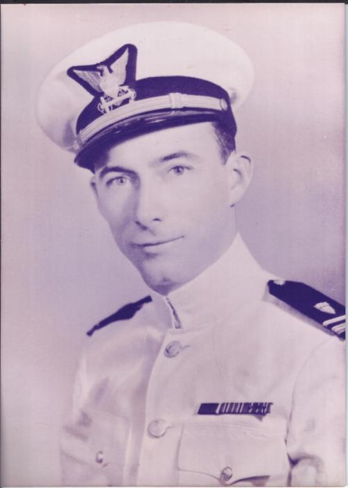 Lt.(j.g.) Arthur Farrar Executive Officer